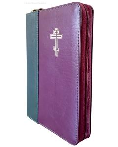 Библия неканоническая вишнево-зеленая  047DC ZTI