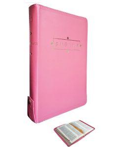 Библия 077 ZTI FIB-Розовая