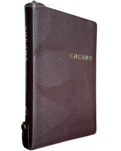 Библия 077 ZTI FIB коричневая