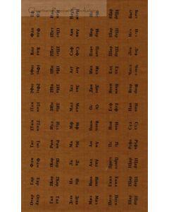 Наклейка Фигурные метки для Библии. Золотистый цвет